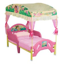 Dora  Canopy Toddler Bed