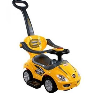 Mega Car 3 in1 in Yellow