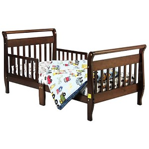 Sleigh Toddler Bed In Espresso