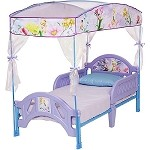 Tinkerbell Canopy Toddler Bed